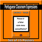 Useful Portuguese Expressions for Class Posters - Style A