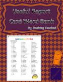 Useful Report Card Word Bank (FREEBIE)