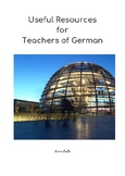 Useful Resources for Teachers of German