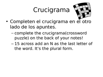 Useful Spanish Classroom Expressions PowerPoint