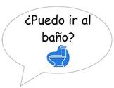 Useful Spanish Classroom Phrases Poster Set