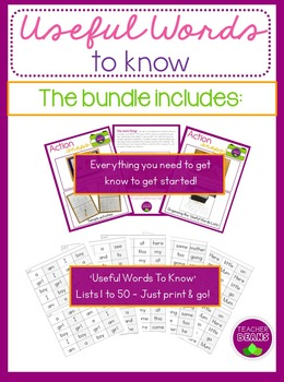 Useful Words To Know Ulitmate Bundle