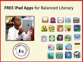 FREE iPad Apps for Balanced Literacy