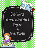 CVC Word Interactive Notebook Freebie
