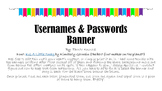 Usernames & Passwords Banner