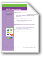 Uses One-to-One Correspondence (Math Assessment PreK)
