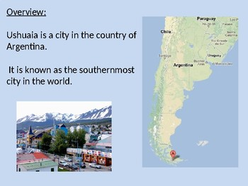 Ushuaia - Southern Most City Power Point facts history information