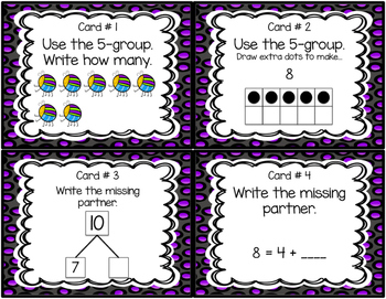 Using 5 groups and partners 5 - 10
