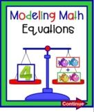 Using A Balance To Model An Equations SMARTBOARD