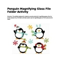 Using A Magnifying Glass a file folder activity