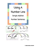 Using A Number Line within 10- Simple Addition Number Sentences