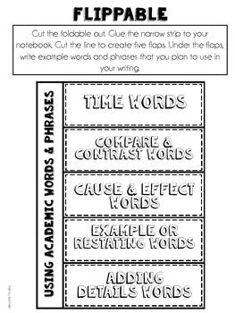 Using Academic Words (L.5.6)