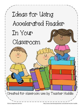 Accelerated Reader - Classroom Ideas to Inspire Reading with Striped Backgrounds