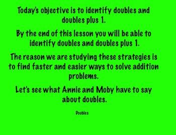 Using Addition Strategies SmartBoard Slideshow Day 2