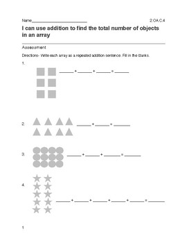 Using Addition and Arrays