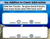 Using Addition to Check Subtraction
