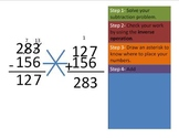 Using Addition to Check Subtraction- The Asterisk Method for Inverse Operation
