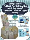 Using Addition to Check Your Subtraction with Regrouping Activity