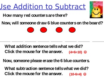 Using Addition to Subtract (Related Facts)