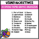 Using Adjectives: Describe the Noun {Spring Edition}