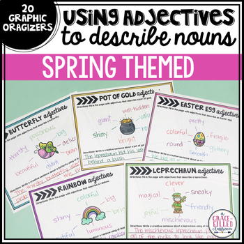 Using Adjectives: Describe the Noun {Spring Edition}