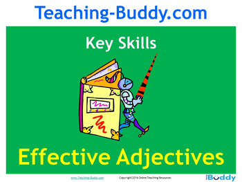 Using Adjectives Teaching Resource