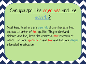 Using Adjectives and Adverbs; Complete Lesson  – Matilda