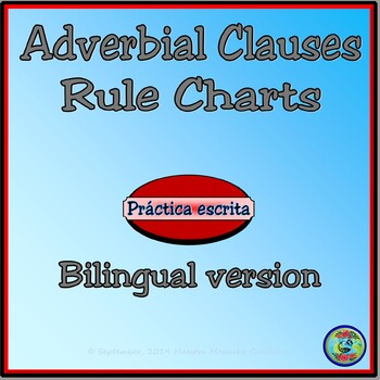 The Subjunctive and Adverbial Clauses - Bilingual Charts