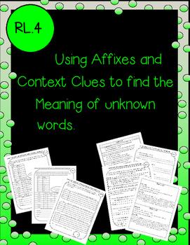 affixes and context clues bundle  RL.4