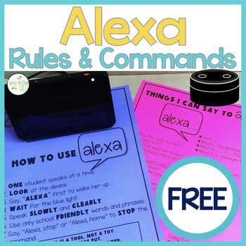 Using Alexa in the Classroom or Speech Room FREEBIE