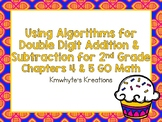 Using Algorithms for Double Digit Adddition & Subtraction for 2nd Grade-GO Math