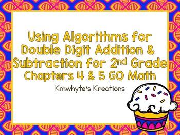 Using Algorithms for Double Digit Adddition & Subtraction