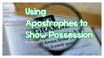 Using Apostrophes to Show Possession