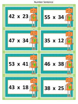 Using Area Models to Multiply 2-Digit Multiplication