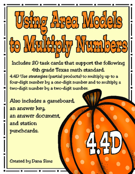 Using Area Models to Multiply Numbers: 4th Grade Math 4.4D