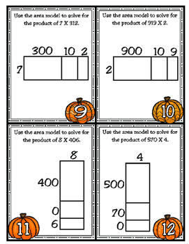 Using Area Models to Multiply Numbers: 4th Grade Math (TEKS 4.4D)