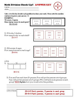 Using Arrays to Solve Division Problems