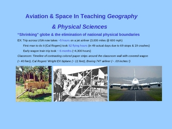 Using Aviation & Space As a Teaching Vehicle