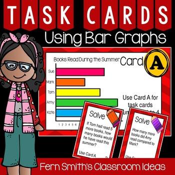 Using Bar Graphs Task Cards