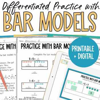 Go Math Using Bar Models to Solve Addition Problems * Diff