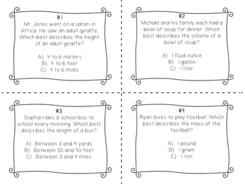 Using Benchmarks to Estimate Measurements
