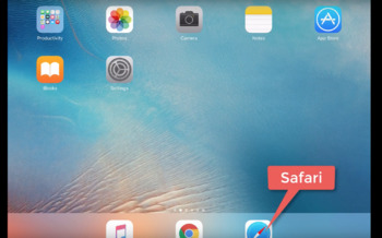 Using Bookmarks in Safari on the iPad HD