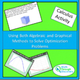 Using Algebraic and Graphical Methods to Solve Optimization Problems