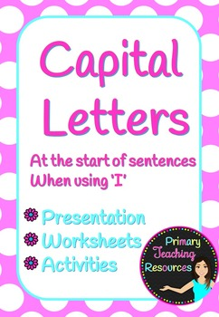 Using Capital Letters Part II