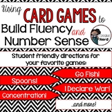 Using Card Games to Build Fluency and Number Sense (Game Rules)