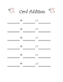 Using Cards for Addition and Subtraction