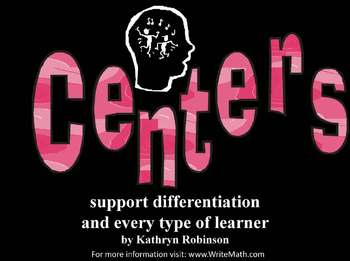 Using Centers in the Classroom - 1st - 6th Grade