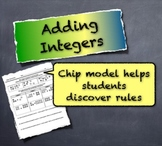 Using Chip Models to Discover Integer Addition Rules