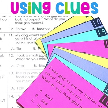 Using Clues