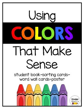 Using Colors that Make Sense